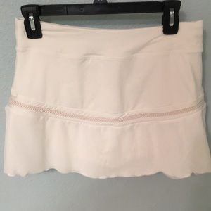 Nike Dry-fit white skirt like new size Large